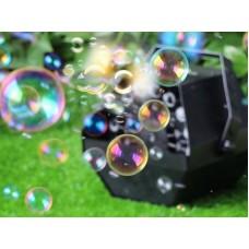 Оренда генератора мильних бульбашок