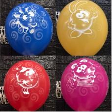 """Гелієві кульки  """"Смішарики  """""""