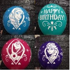"Гелієві кульки  ""  Frozen. Happy Birthday  """