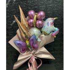 Букети зібрані з кульок Чарівна Фея