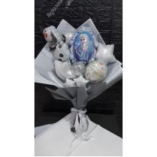 Букети зібрані з кульок Фроузен  Холодне Серце