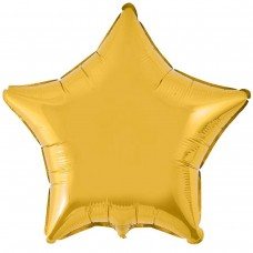 Фольга зірка золота