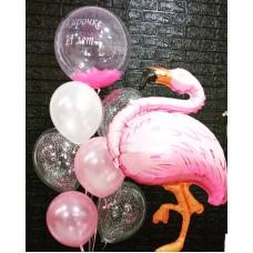 Букет кульок - Фламінго