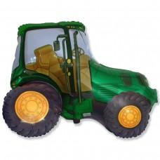 Фігурна кулька   Трактор зелений