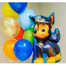 Фігурна кулька  - Щенячий патруль Чейз