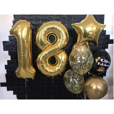 """Букет кульок """" 18 """""""