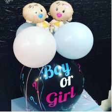 """Кулька гендерна на визначення статі """"Boy or Girl"""""""