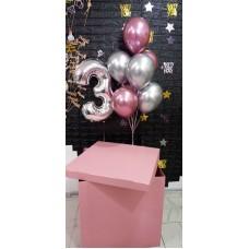 Коробка-сюрприз на 3 роки для дівчинки