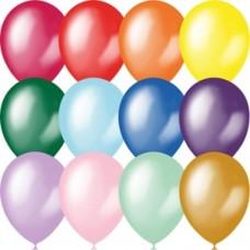 """Геліеві кульки """"Металік, перламутр """" 12 дюймів (30 см)"""