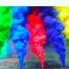 Кольоровий дим ( димова шашка) - smoke bombs.
