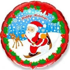 """Фольгированный шар """"Happy Holidays"""""""
